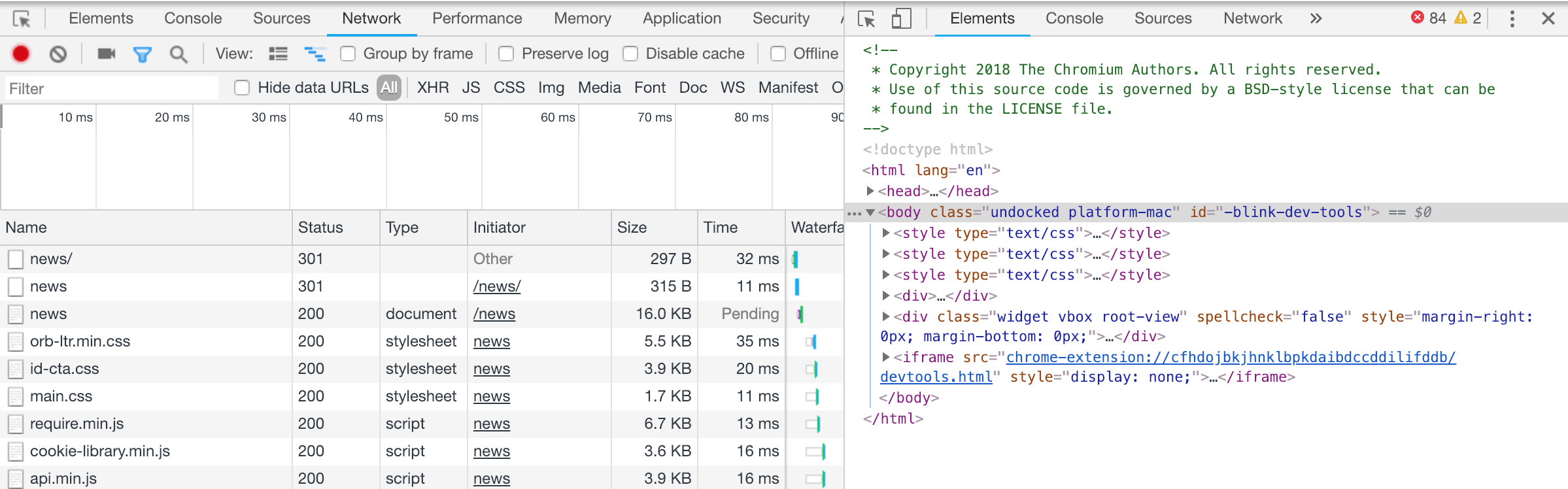 Using Puppeteer to interact with the Devtools UI (Hack